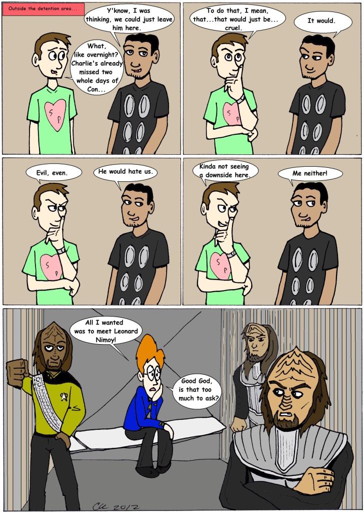 Klingons color